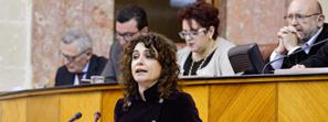 El Parlamento aprueba el Presupuesto de Andalucía para 2015, dotado con 29.625 millones de euros