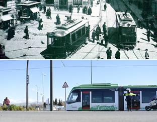 El metro de Granada, un billete de ida y vuelta al pasado
