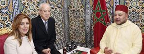 Mohammed VI y Susana Díaz apuestan por potenciar la  cooperación económica entre Marruecos y Andalucía