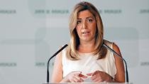 Intervención de Susana Díaz en la firma del convenio con Vodafone