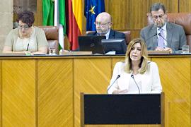 Comparecencia de Susana Díaz en el debate sobre el estado de la Comunidad.