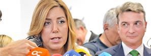 Susana Díaz lamenta que los Presupuestos del Estado son