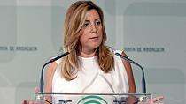 """Díaz agradece al Banco Santander y a las pymes su """"apuesta en Andalucía por lo más importante, nuestro capital humano"""""""