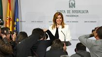 Comparecencia de Susana Díaz para anunciar la convocatoria de elecciones autonómicas (audio íntegro)