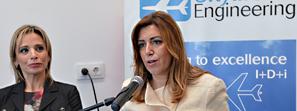 Díaz destaca que la Junta busca alternativas para la ampliación del Parque Tecnológico Aeroespacial Aerópolis