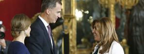 Susana Díaz subraya que España es un proyecto con presente y futuro y que Andalucía arrimará el hombro para desarrollar su potencial
