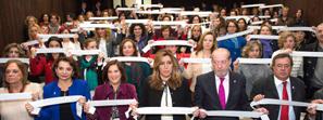Díaz reclama no resignarse y que todas las instituciones pongan sus recursos al servicio de la lucha contra la violencia machista