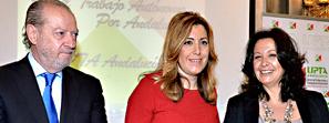 Susana Díaz destaca que la línea de apoyo a la industrialización del Gobierno andaluz incorpora por primera vez a los autónomos