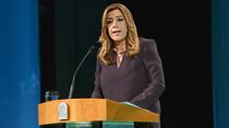Susana Díaz destaca que la renovación democrática de las instituciones debe servir para que Andalucía tome impulso