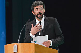 Intervención del Hijo Predilecto en el acto de entrega de Distinciones del Día de Andalucía