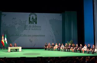 Acto institucional de entega de Distinciones del Día de Andalucía (vídeo íntegro)