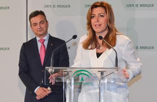 Intervención de Susana Díaz en la toma de posesión del rector de la Universidad de Cádiz