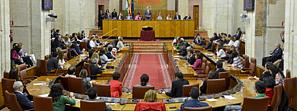 Andalucía abre su X Legislatura con la constitución del Parlamento autonómico