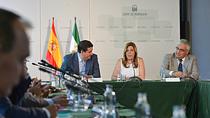 Intervención de Susana Díaz en la reunión con los representantes de la Economía Social en Andalucía