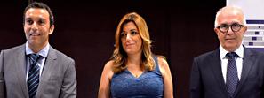Susana Díaz apuesta por que la industria sea el eje del nuevo modelo económico andaluz
