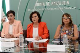 Sánchez Rubio, durante el encuentro.