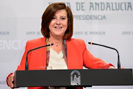 La consejera de Igualdad y Políticas Sociales, María José Sánchez Rubio, informó sobre el anteproyecto de Ley de modificación de la Ley para la Promoción de la Igualdad de Género en Andalucía.