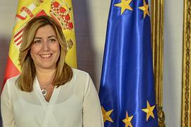 Susana Díaz ha advertido de la difícil situación de los refugiados.