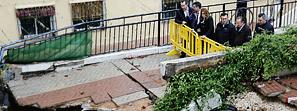 Susana Díaz asegura que las administraciones afrontarán los daños ocasionados por el temporal en Málaga y Cádiz