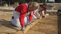 La retirada de la cubierta geotextil, el primer paso hacia la recuperación