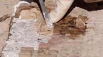 Relleno de las lagunas al estilo romano: cal y arena