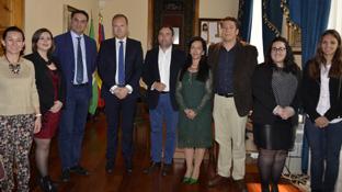 Fernández presentó el nuevo Plan de Promoción del Levante Almeriense.
