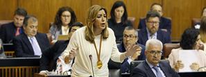 Susana Díaz destaca que los andaluces ahorrarán 214 millones de euros en 2016 gracias a bajadas de impuestos e incentivos fiscales