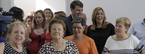 Susana Díaz destaca que la Ley de Servicios Sociales normalizará el acceso al