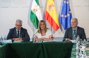 Intervención de Susana Díaz en la sesión constitutiva del IX Consejo de Comunidades Andaluzas