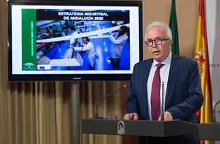 Sánchez Maldonado expone la Estrategia Industrial de Andalucía 2020