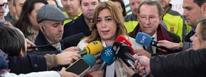Susana Díaz rechaza la falta de