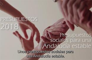 Spot informativo de los Presupuestos de la Comunidad Autónoma de Andalucía para 2018