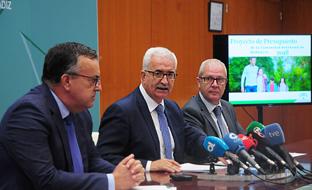 Presentación de la cuentas para 2018 en Cádiz.