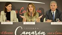 Intervención de Díaz en la firma del protocolo para la creación del Centro de Interpretación Camarón de la Isla