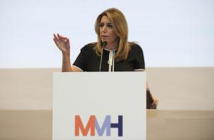Intervención de Díaz en la inauguración del II Salón Internacional de la Minería Metálica