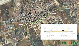Proyecto de la nueva ronda urbana sur de Mairena del Aljarafe (Sevilla).