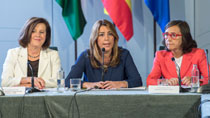 Intervención de Díaz ante el pleno del Consejo Andaluz de Participación de las Mujeres