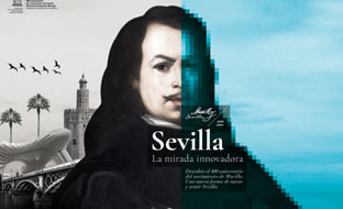 Cartel anunciador del Año Murillo.