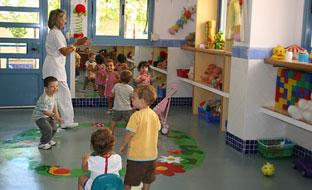 Alumnos de primer ciclo de Educación Infantil.