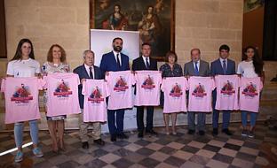 Francisco Javier Fernández, junto al alcalde de Sevilla, en la presentación del torneo.