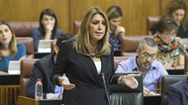 Díaz anuncia que el Gobierno andaluz aprobará el 10 de octubre el Presupuesto para 2018