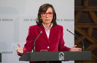 Aguilar expone la Declaración institucional sobre el Día Internacional de la Eliminación de la Violencia contra las Mujeres