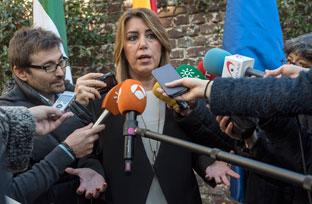Susana Díaz exige un nuevo modelo de financiación justo y equitativo