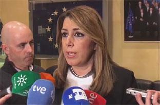 Vídeo resumen de la intervención de Susana Díaz tras la reunión con los comsiarios europeos de Asuntos Económicos y de Investigación
