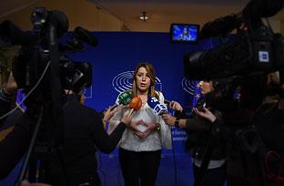 Susana Díaz defiende la necesidad de una política europea útil y sensible