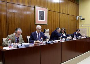 Manuel Jiménez Barrios, durante su intervención.