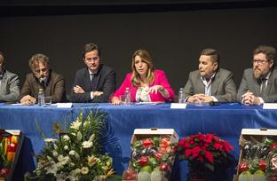 Intervención de la presidenta de la Junta en la reunión con la Mesa del Agua