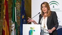 Intervención de Díaz en la entrega de los II Premios Coraje de los Autónomos Andaluces de la UPTA-Andalucía