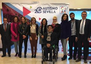 Las consejeras Marina Álvarez y María José Sánchez Rubio en la inauguración del Congreso Internacional de Autismo \u0027Alcanzamos sueños\u0027.