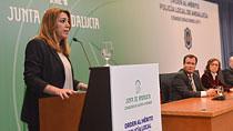 Intervención de Díaz en la entrega de condecoraciones de la Orden al Mérito de la Policía Local de Andalucía